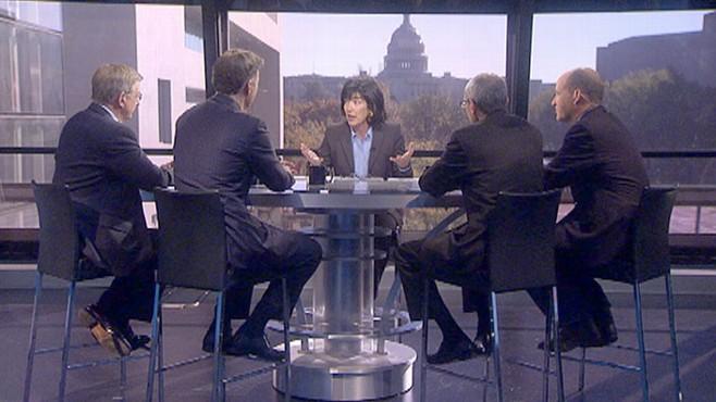 VIDEO: George Will, Sen. Evan Bayh, Matt Dowd, John Podesta and Amy Walter.
