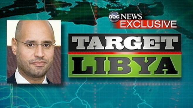 VIDEO: Christiane Amanpour speaks to the Libyan leaders son in a worldwide exclusive.