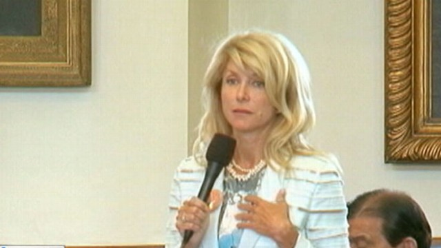 VIDEO: Texas state senator Wendy Davis on her filibuster fight in Texas.