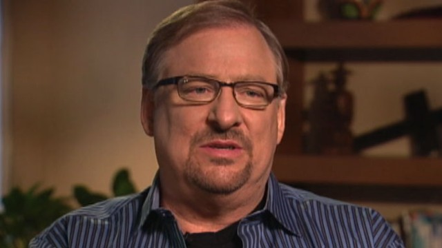 VIDEO: The evangelical pastor is interviewed for a special Easter Sunday This Week.