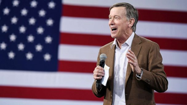 John Hickenlooper says Trump fueling 'national crisis of division'