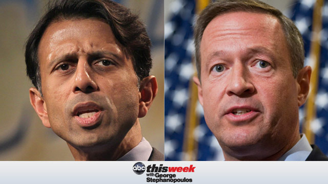 Gov. Martin OMalley and Gov. Bobby Jindal