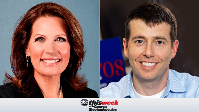 Michele Bachmann and David Plouffe on This Week