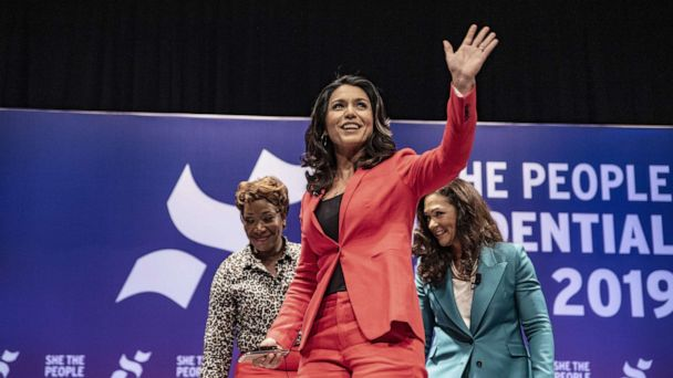 2020 candidate Rep. Tulsi Gabbard presses that US must not go to war with Iran