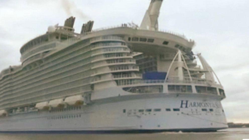Worlds Largest Cruise Ship Sails Cost Billion To Build Video - Cost to build cruise ship