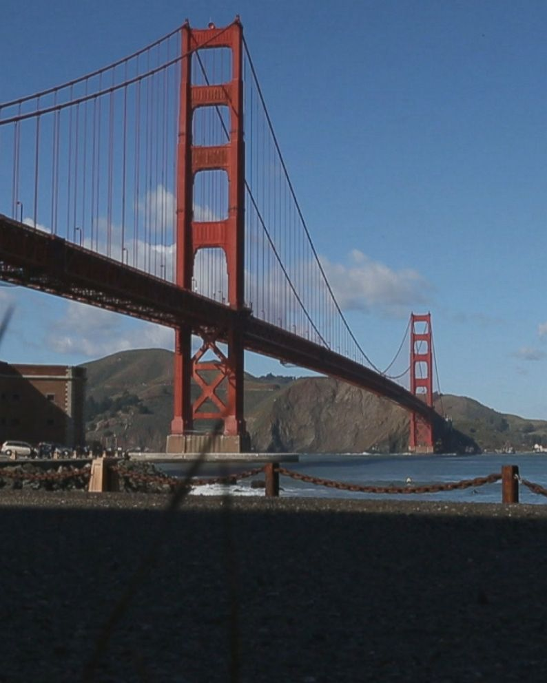 The History Of San Francisco S Landmark Golden Gate Bridge As It Turns 80 Abc News
