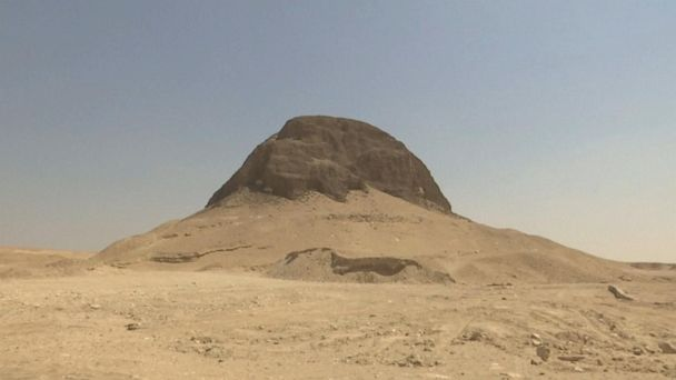 4,000-year-old Egyptian pyramid open to visitors for first time