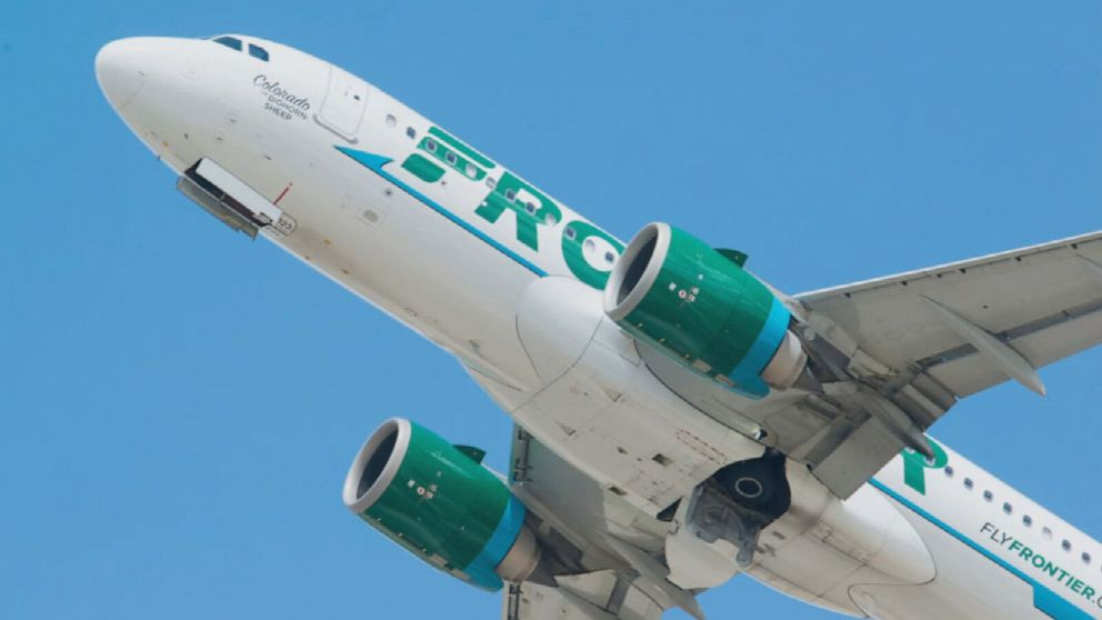 frontier airlines to require temperature screenings prior to boarding abc news frontier airlines to require