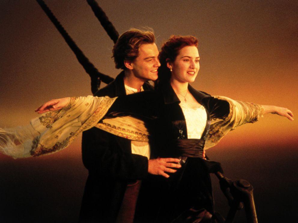 PHOTO: Kate Winslet and Leonardo DiCaprio in the 1997 film Titanic.