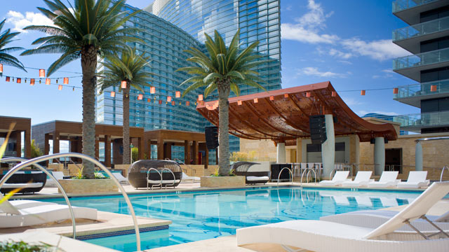 Vegas pools open for season abc news - Best swimming pools in las vegas strip ...