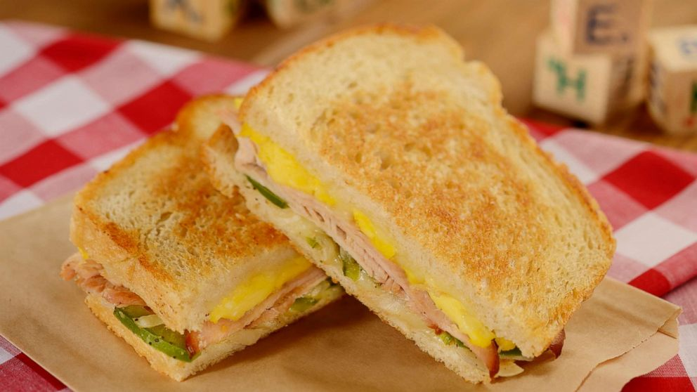 PHOTO: Turkey, Egg and Swiss sandwich at Woodys Lunch Box