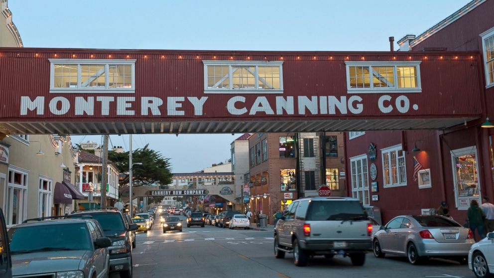 Cannery Row in Pacific Grove, Calif.