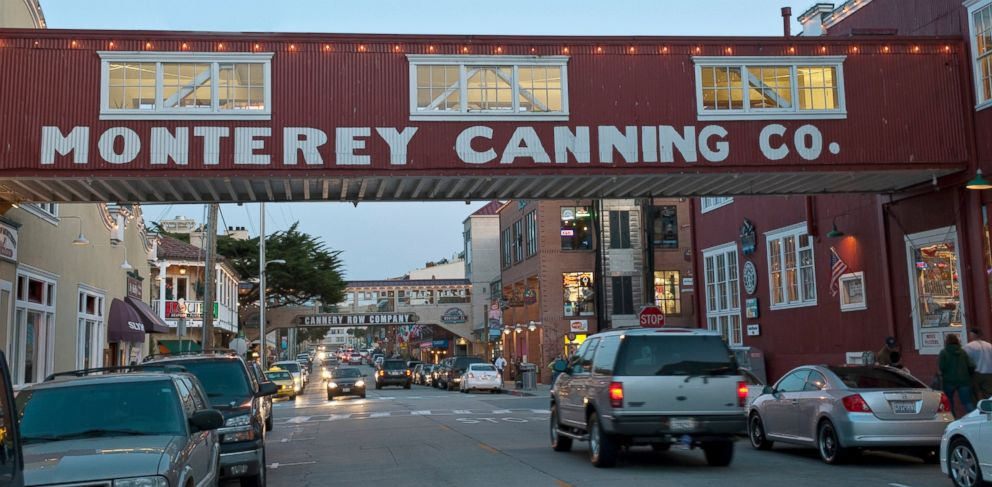 PHOTO: Cannery Row in Pacific Grove, Calif.