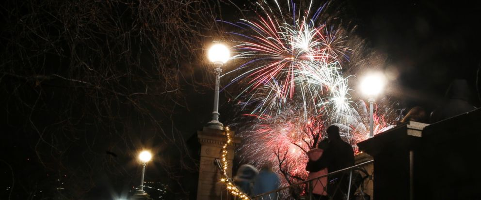 PHOTO: First Night activities take place throughout the city of Boston, Dec. 31, 2013.
