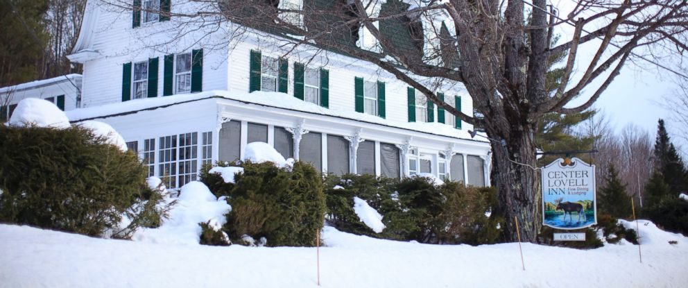 PHOTO: This Jan. 26, 2015 photo shows the Center Lovell Inn in southwestern Maine.