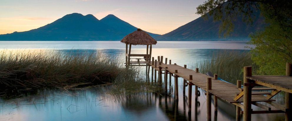 PHOTO: Lake Atitilan in Guatemala.