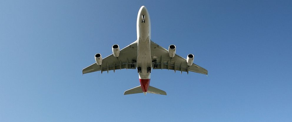 The Qantas A380 lands at the Perth International Airport on Oct. 14, 2008 in Perth, Australia.