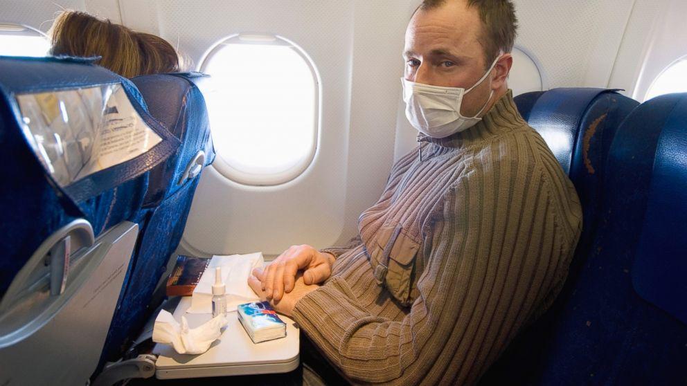 Corona Virus Flugzeug