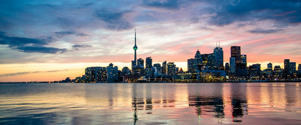 PHOTO: The Toronto skyline.