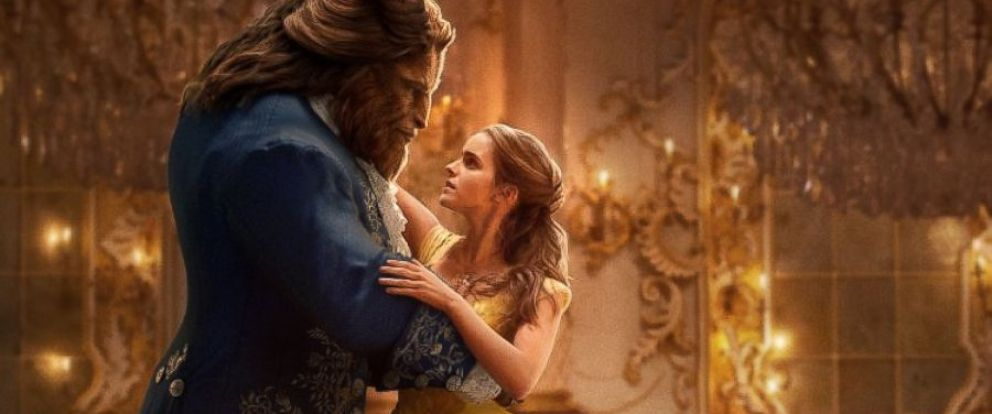 """PHOTO: Emma Watson and Dan Stevens in the movie, """"Beauty and the Beast,"""" 2017."""