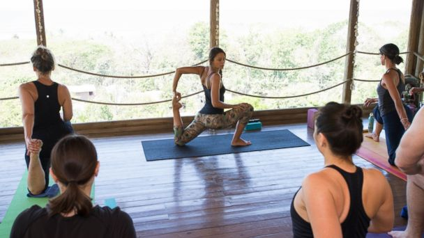 PHOTO: Get into yoga at the Horizon Ocean View Hotel and Yoga Center in Costa Rica.