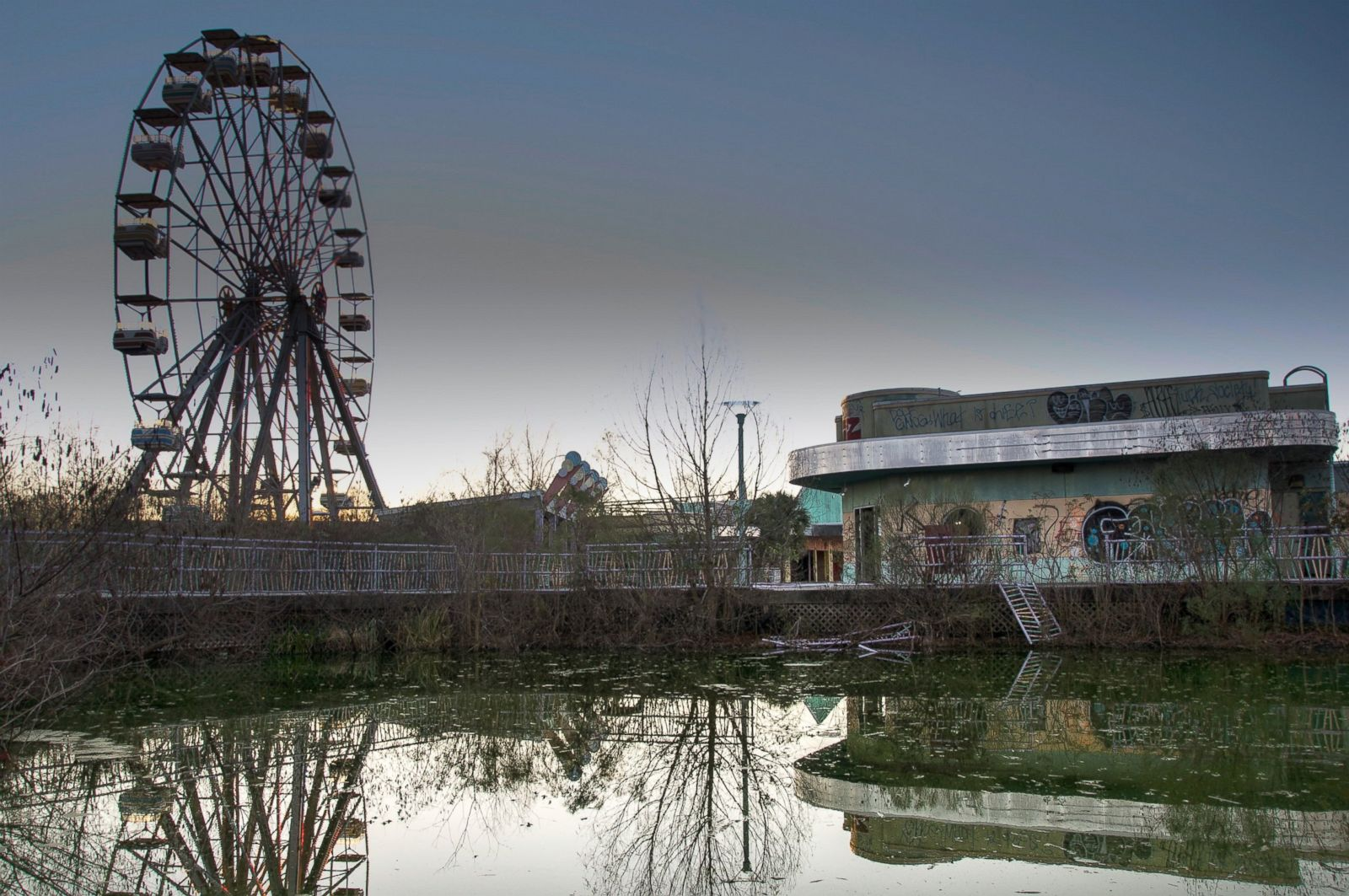 Abandoned Amusement Parks From Seph Lawless Photos Abc News