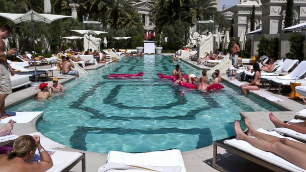 The 10 best adults only pools abc news for Pool spa patio show las vegas