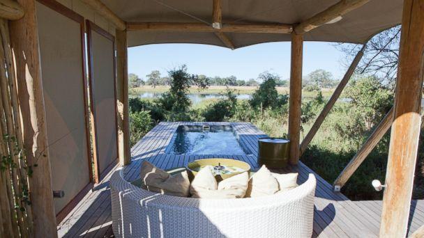 PHOTO: andBeyond Xaranna Okavango Delta Camp, Botswana.