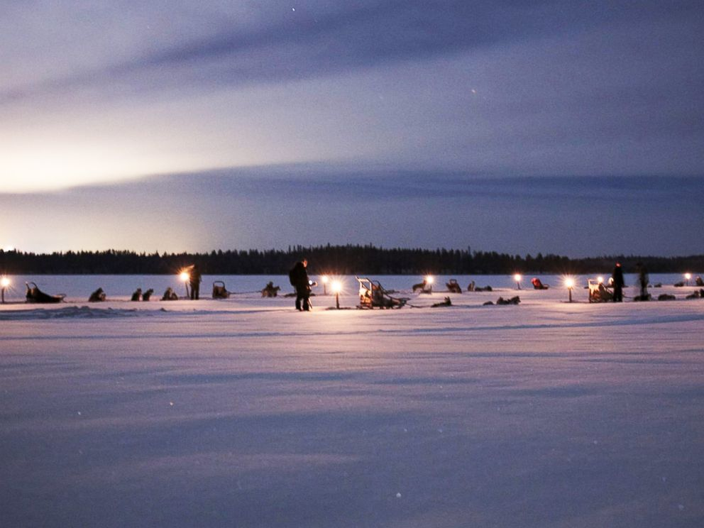 PHOTO: Situated just 60 km from the edge of the Arctic Circle, the Ruka Peak resort features stunning winter scenery.