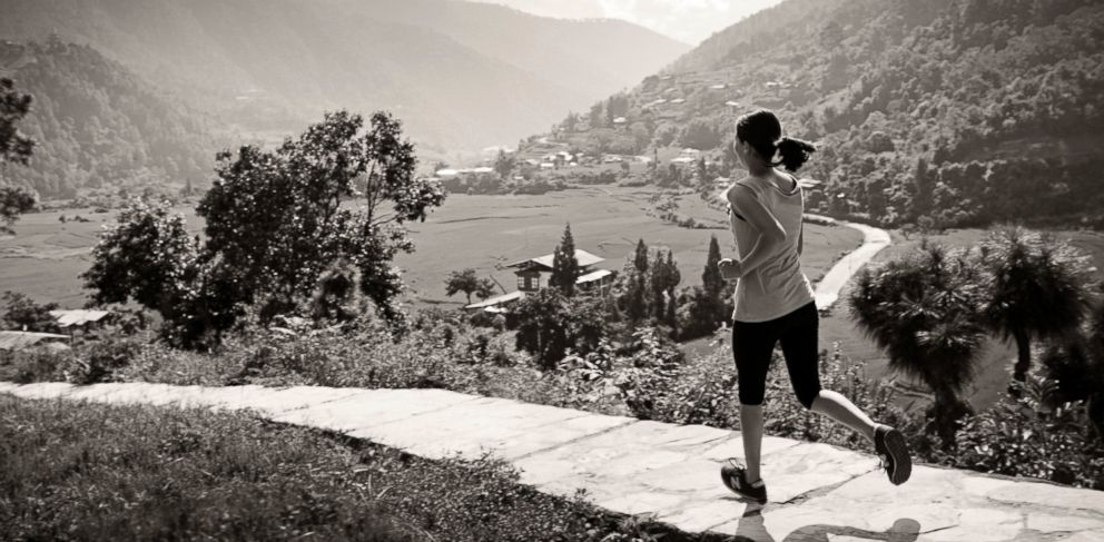 PHOTO: Get fit in the mountains of Bhutan.