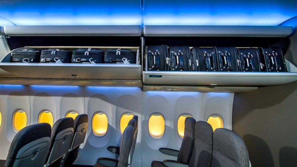 Boeing Increases Overhead Bin Size By 50 Percent Abc News