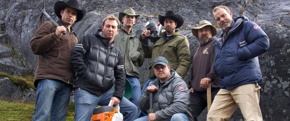 PHOTO: Josh Feldman, Zach Schoose, John Self, Americo DiSantis, Jesse Feldman, Chand Watkins and Eric Drummons in Greenland.