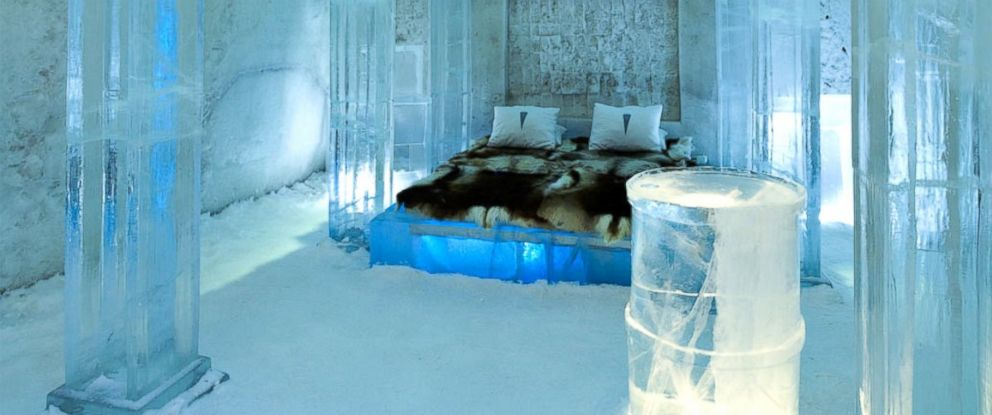 For A Cool 231k You Can Build Your Own Ice Hotel Suite
