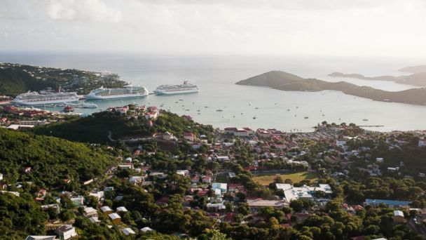PHOTO: The view from Skyline Drive in the U.S. Virgin Islands.
