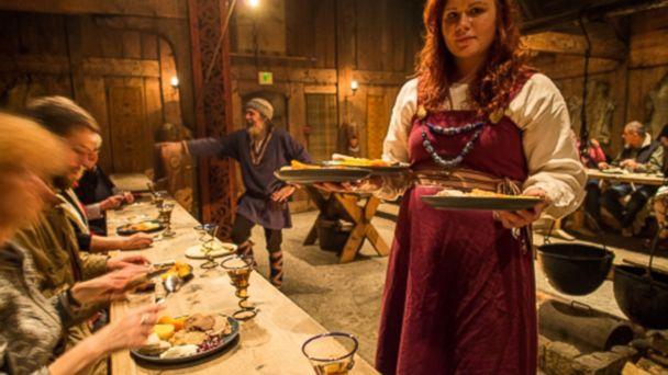 Viking Feast by Hurtigruten, Lofoten Norway