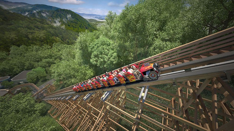 Worlds Fastest Wooden Coaster To Open At Dollywood Abc News