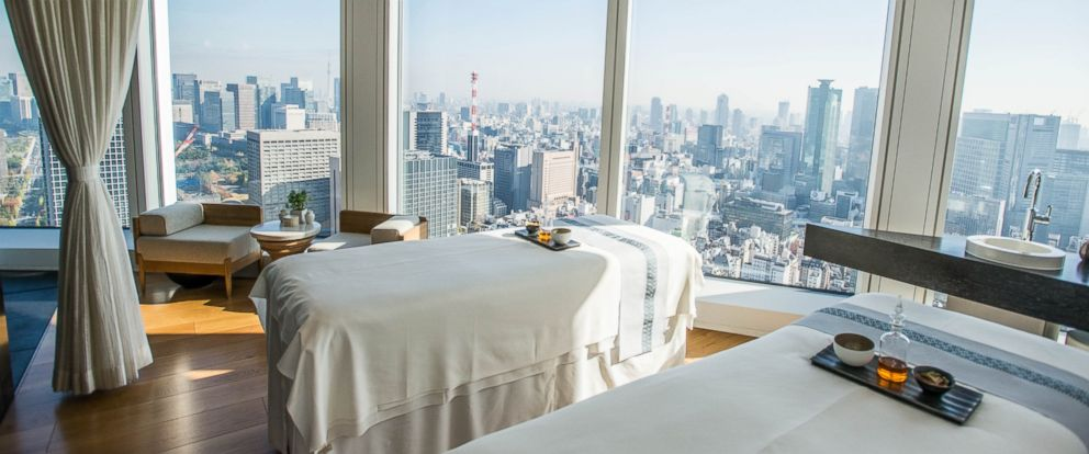 PHOTO: The Andaz Tokyo Toranomon Hills hotel in Japan is seen in this undated file photo.