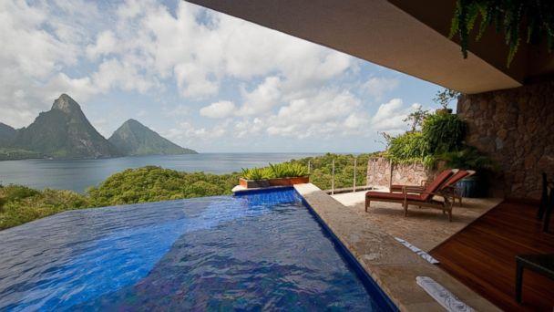 PHOTO: Jade Mountain Resort, St. Lucia