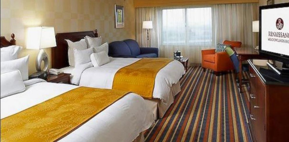 PHOTO: The Renaissance Meadowlands Hotel in Rutherford, N.J. is charging $989 per night for a standard room over Super Bowl weekend.