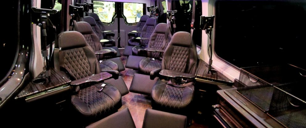 PHOTO: Royal Sprinter offers luxury van transportation between New York and Washington, D.C.