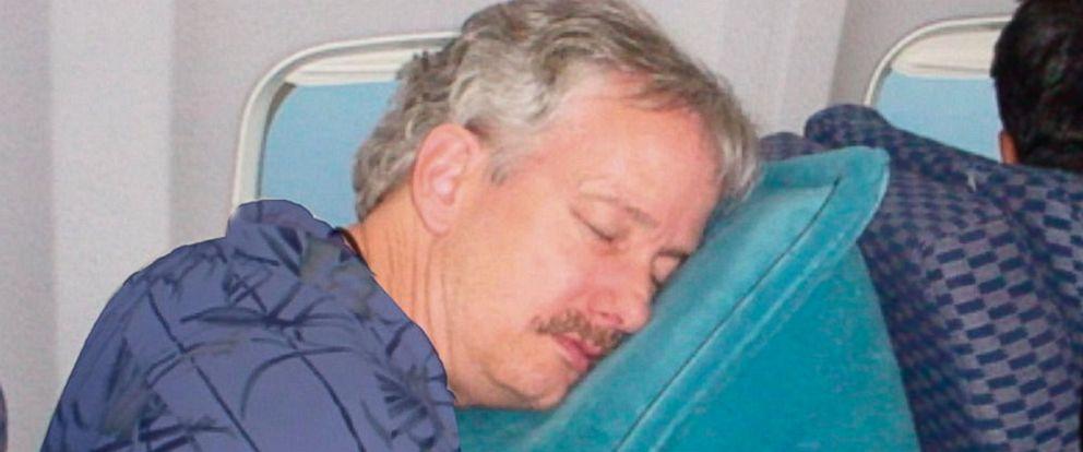 "PHOTO: The ""SkyRest Travel Pillow."""