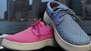 PHOTO: These shoes, created by one of the co-founders of Crocs could be the next big thing in summer footwear