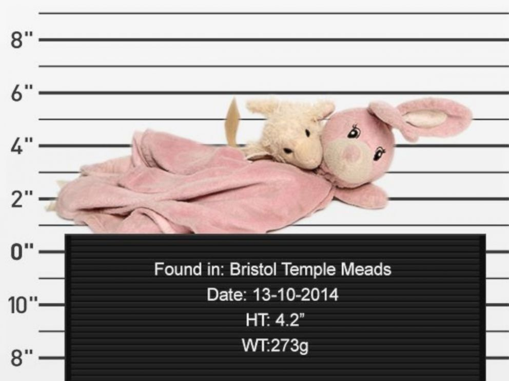 PHOTO: A U.K. train company is on a mission to reunite owners and left-behind stuffed animals.