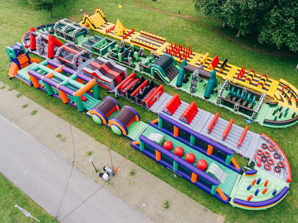 PHOTO: The Beast Is The Worlds Biggest Bouncy Castle.