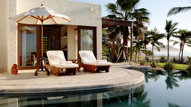 PHOTO: Seen here in this file photo is the Ocean view luxury suite located at Las Ventanas, Los Cabos, Mexico.