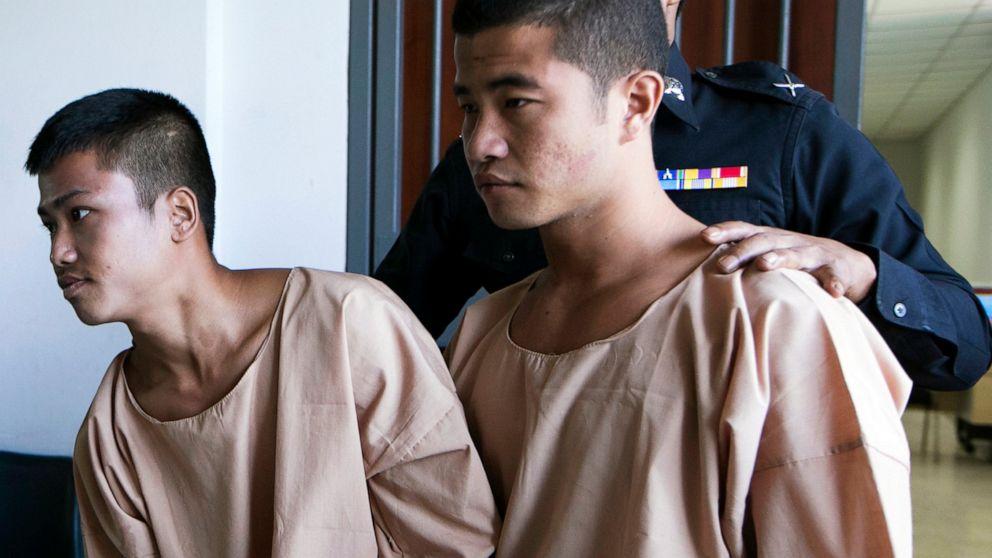 Thailand commutes death sentences in killings of UK tourists