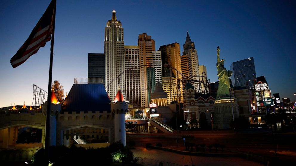 Vegas execs sue online travel firms, allege unpaid hotel tax