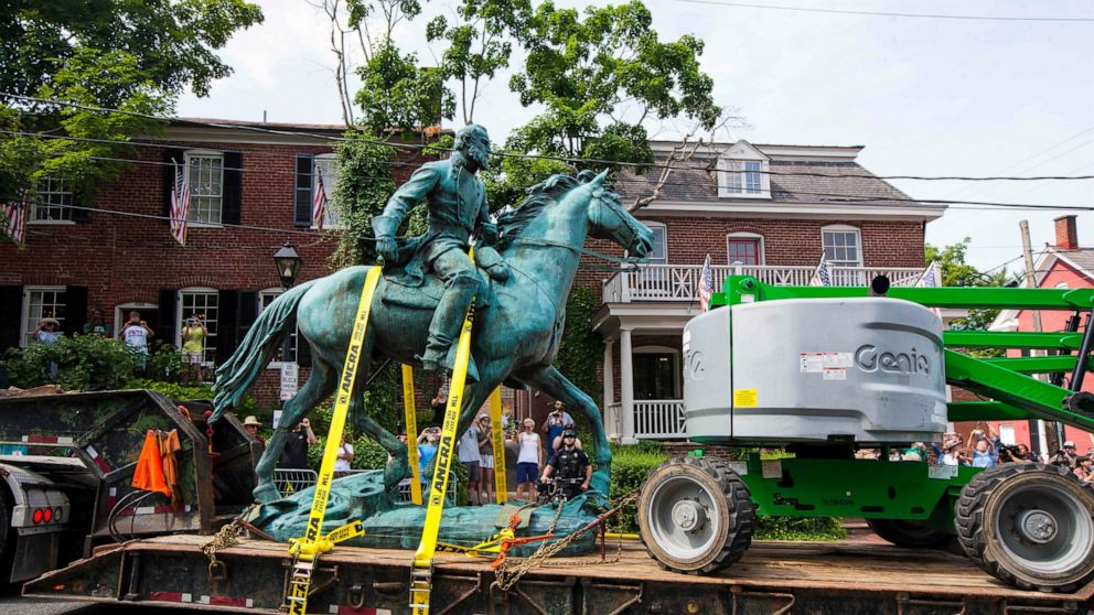 At least 14 interested in acquiring Charlottesville statues
