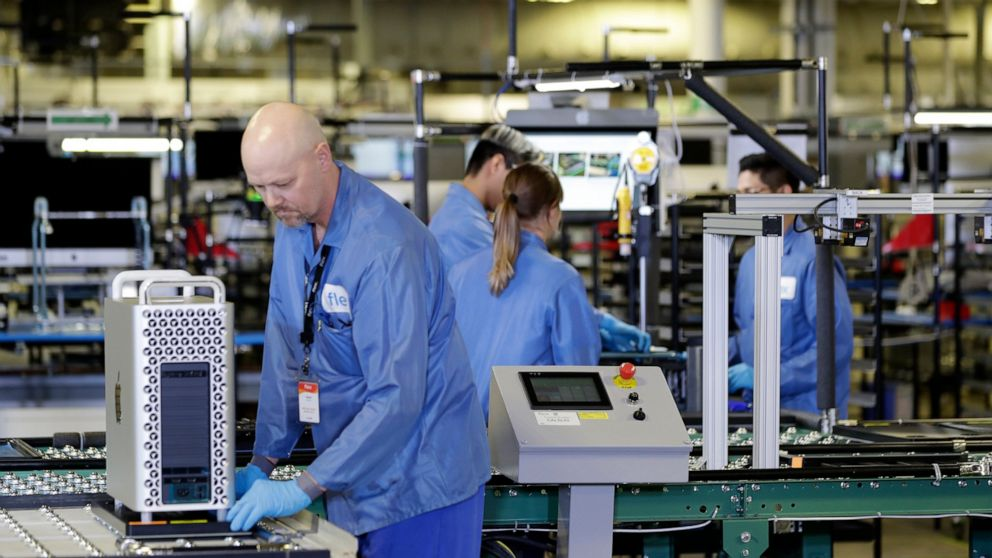 Survey: US factories sink in May for third straight month