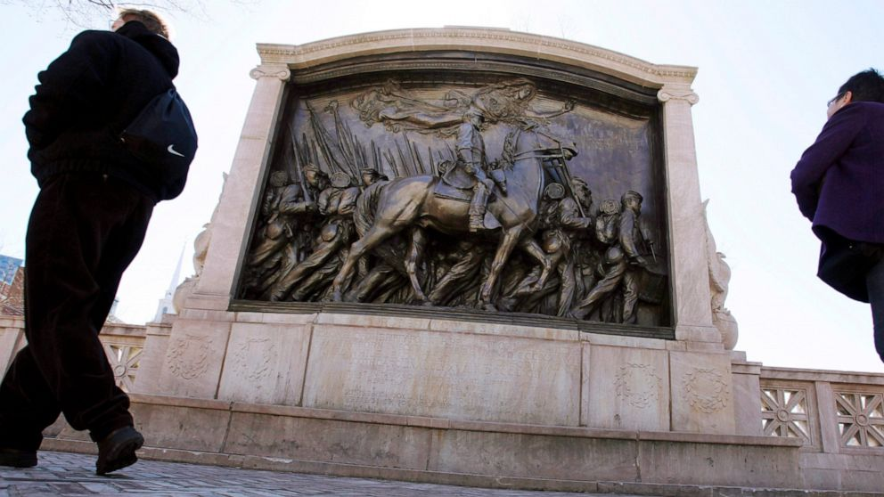 Black soldiers monument faces scrutiny amid racial reckoning